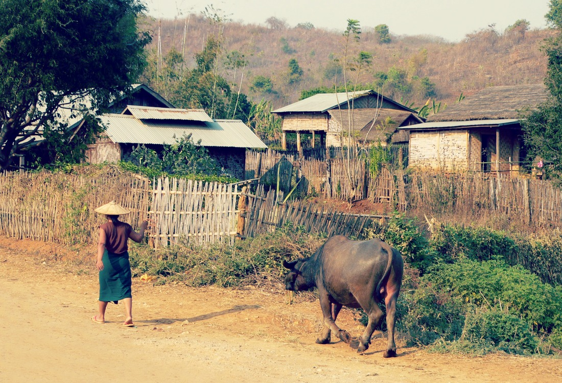 Shan State Villages  The Global Commute